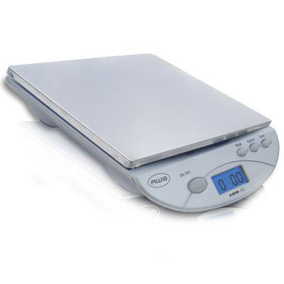 Dig Postal Kitchen Scale, Silver
