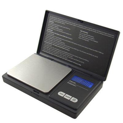 AWS Digital Pocket Scale Black