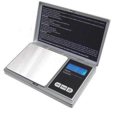 Digital Pocket Scale Silver