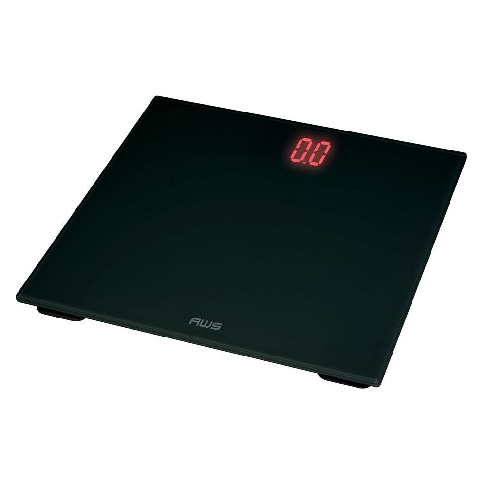 Digital Glass Scale Red LED