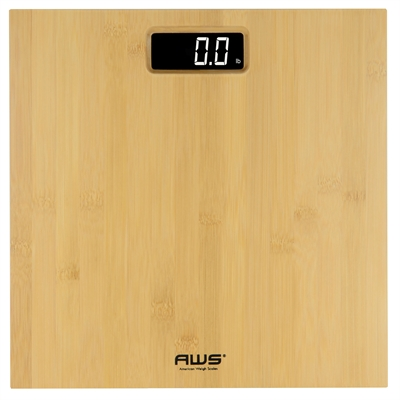 BAMBOO 397 LB DIGITAL LCD BATH