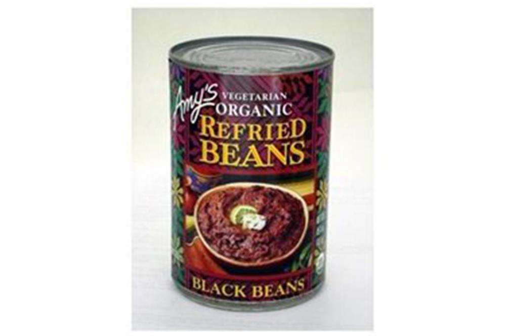 Amy's - Organic Refried Black Beans ( 12 - 15.4 OZ)