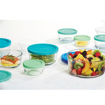 Food Storage Set 20pc Blu/Grn