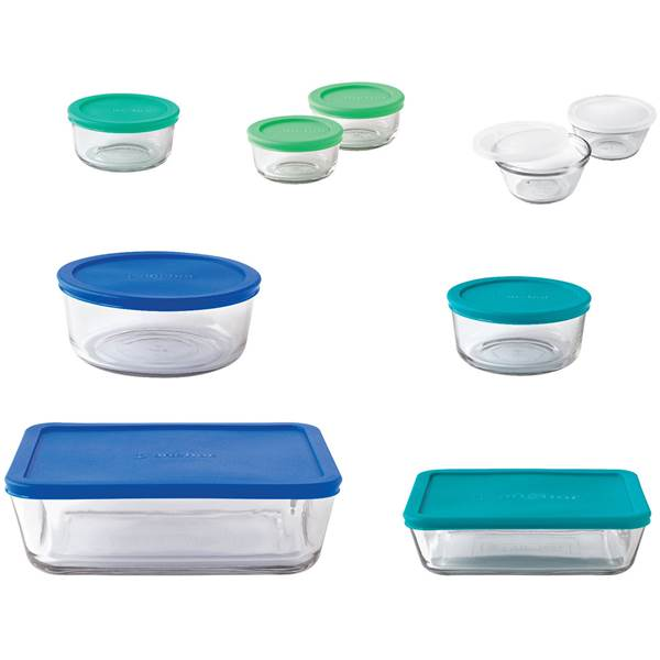 Food Storage Set 20pc Multi