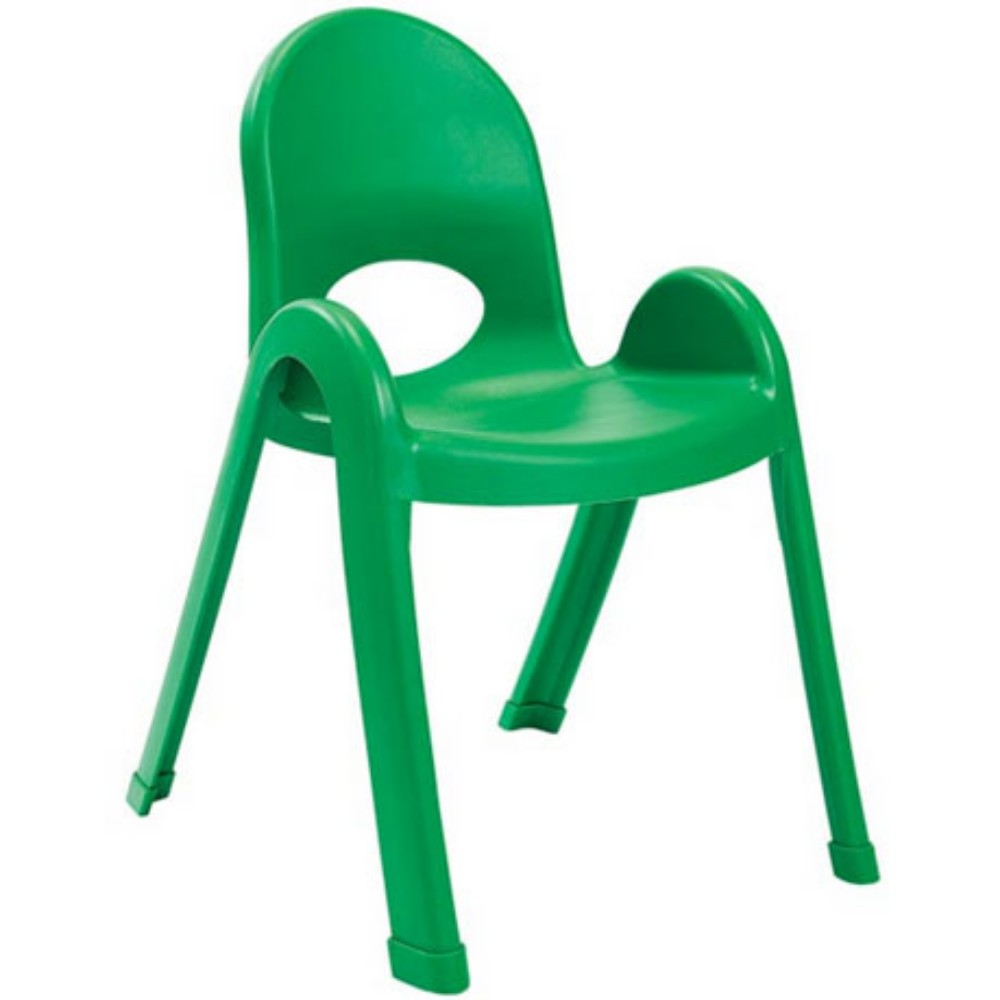 "Value Stack Chair 13"" -Shamrock Green"