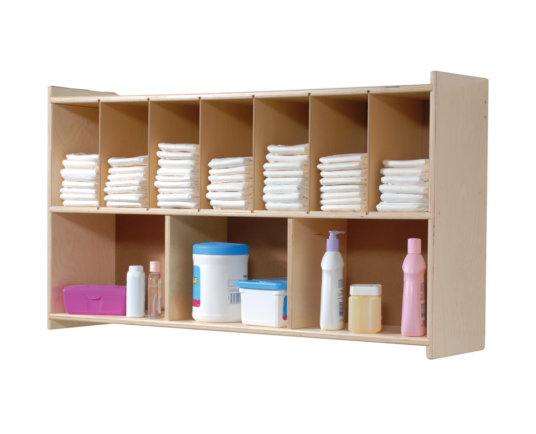 Steffywood Diaper Wall Shelf