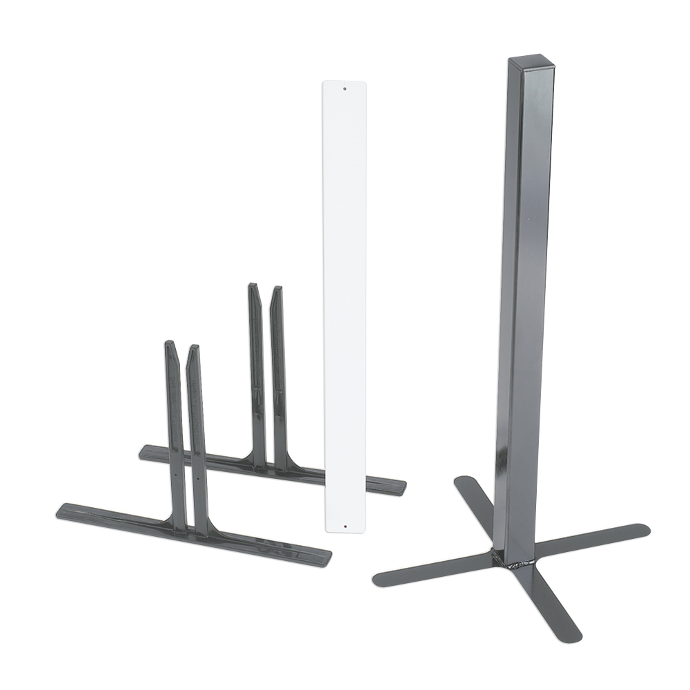 SoundSponge Quiet Dividers Set of 2 Plastic Support Feet