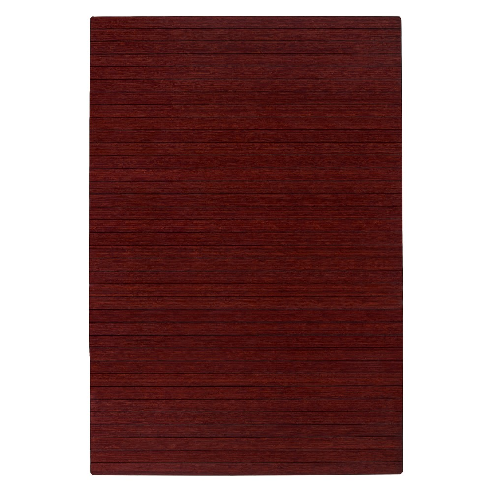 """Bamboo Roll-Up Chairmat, 72"""" x 48"""", no lip"""