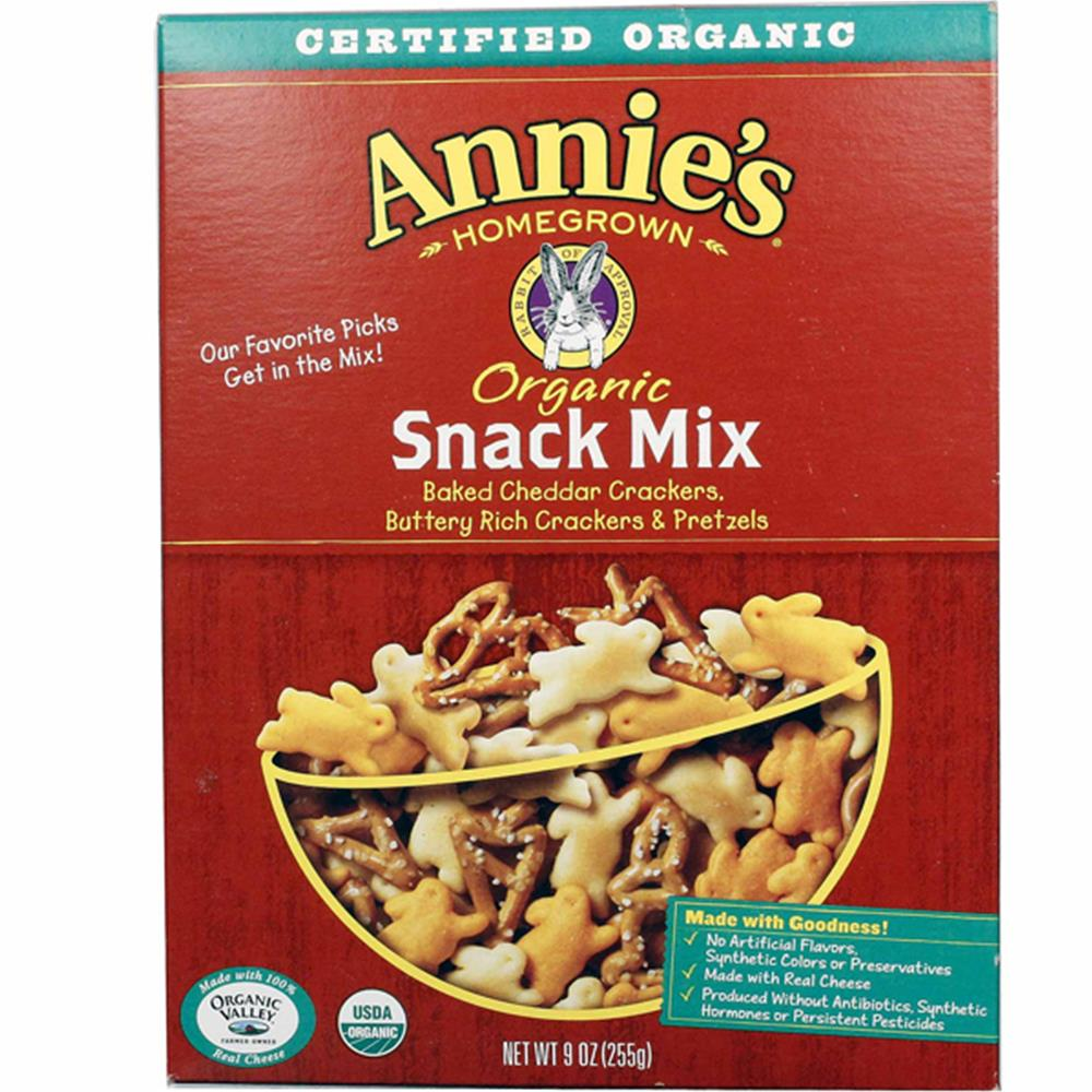 Annie's Homegrown - Organic Snack Mix Bunnies ( 12 - 9 OZ)