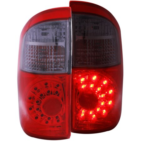 00-06 TUNDRA/DOUBLE CAB LED RED/SMOKE LED TAILLIGHTS DRIVER/PASSENGER