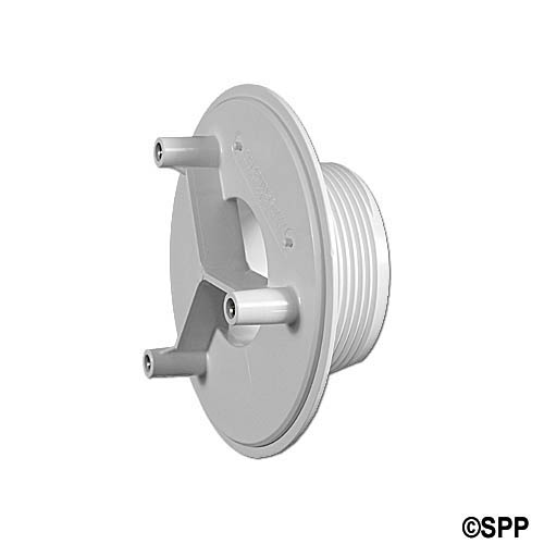 "Adapter Fitting, Suction, AquaStar, 2""MPT x 1-1/8""Thread Length x 1-1/2""S, White"