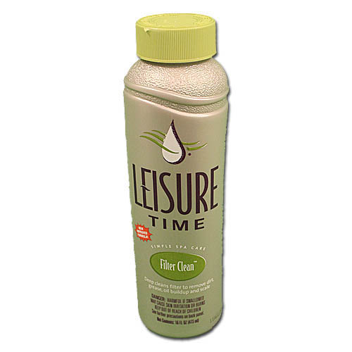 Filter Cleaner, Leisure Time, Filter Clean, 1Pt Bottle