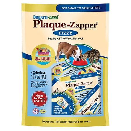 Ark Naturals Breath Less Plaque Zapper  Fizzy  Small to Medium Pets  30 Count