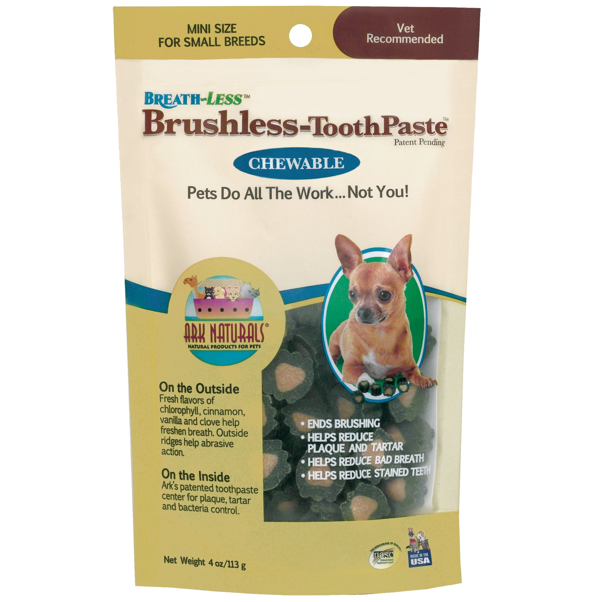 Ark Naturals Breath-Less Brushless Toothpaste (1x4 Oz)