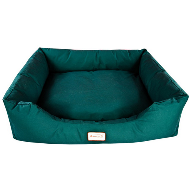 Armarkat Canvas With Waterproof Dog Sleeper Bed Laurel Green