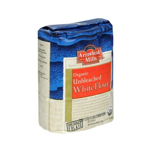 Organic Enriched Unbleached White Flour ( 8 - 5 # )