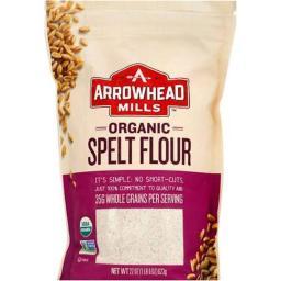 Organic Spelt Flour ( 6 - 22 OZ )