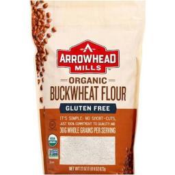Organic Bukwheat Flour - Gluten Free ( 6 - 22 OZ )
