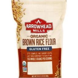 Organic Brown Rice Flour - Gluten Free ( 6 - 24 OZ )