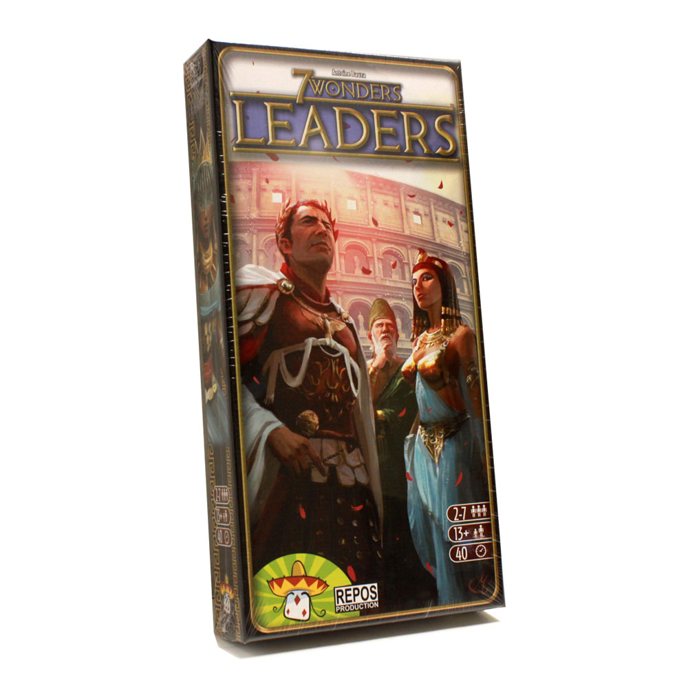 7 Wonders Leaders Expansion Pack