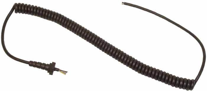 7 1/2' MIC CORD (557,D104-M6) WITH STRAIN RELIEF