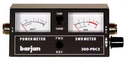 100 WATT PWR/SWR METER