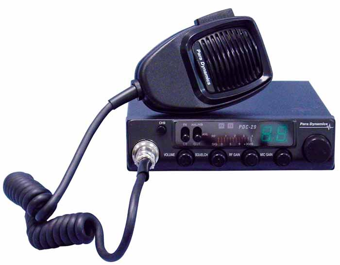 40 CHANNEL COMPACT CB RADIO WITH RF GAIN & FILTERS