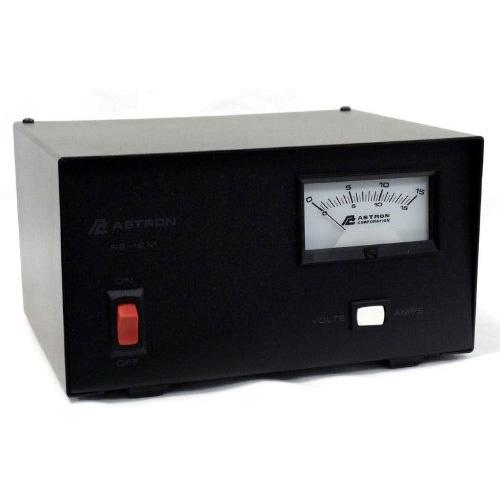 12 AMP POWER SUPPLY W/METER