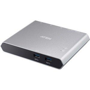 ATEN 2 Port USB C Dock Switch