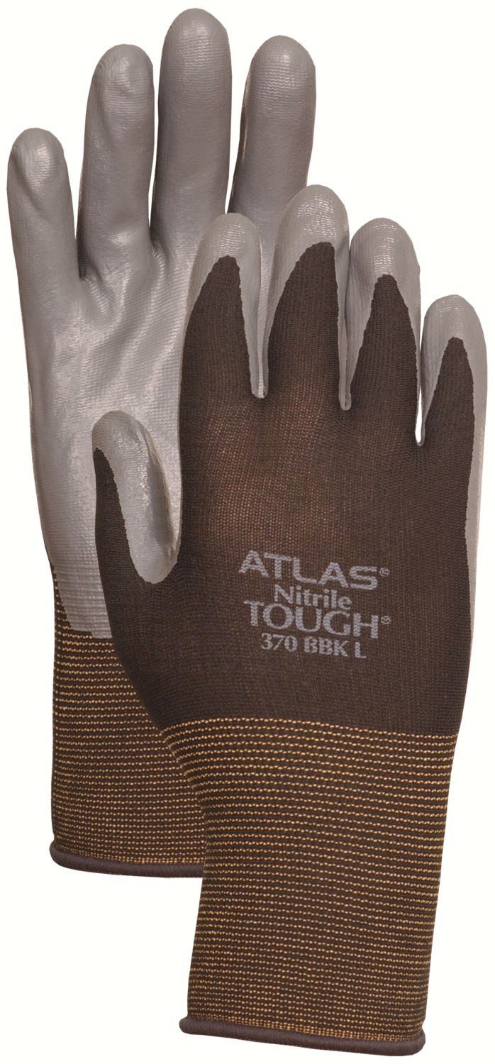 ATLAS Nitrile TOUGH Black L