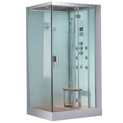 Ariel Platinum White Right Steam Shower