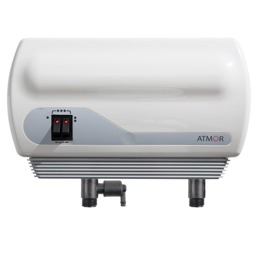 Atmor AT900-03 Point-of-Use Tankless Electric Instant Water Heater, 3 kW / 110V