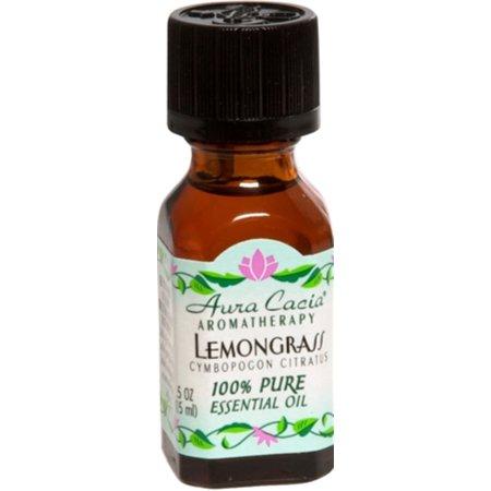 Aura Cacia Lemongrass Essential Oil (1x0.5Oz)