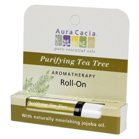 Aura Cacia Cleansing Stick Tea Tree 029 fl Oz (6 Pack)
