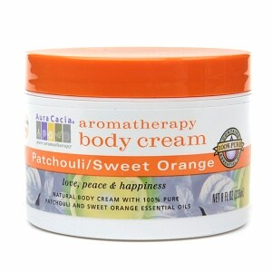 Aura Cacia Body Cream Patchouli and Sweet Orange (1x8 Oz)