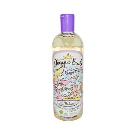 Austin Rose Caroline's Doggie Sudz Shampoo for Pampering Pooch Lavender and Neem 16 Oz