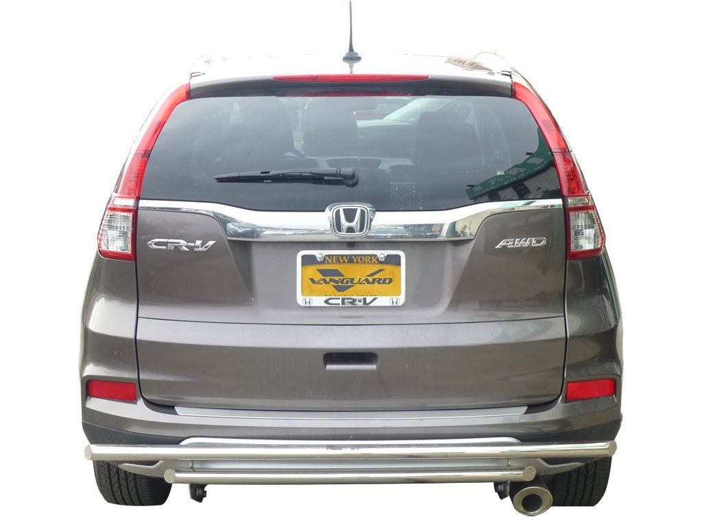 VGRBG-0575SS Stainless Steel Double Layer Style Rear Bumper Guard