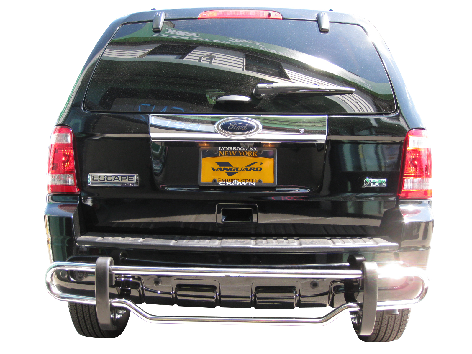 VGRBG-0544SS Stainless Steel Double Tube Style Rear Bumper Guard
