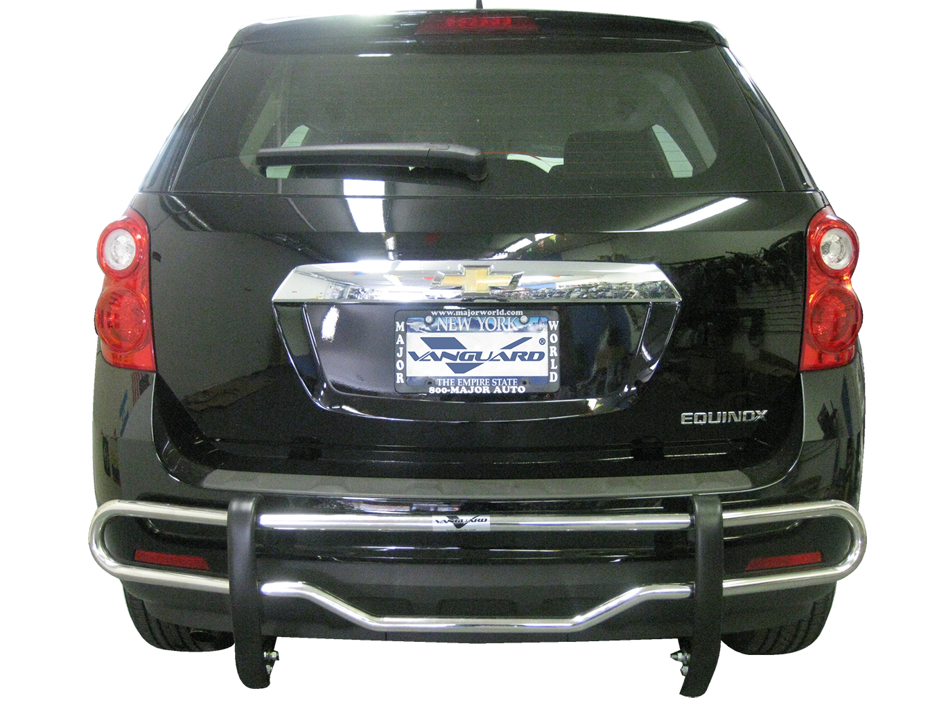 VGRBG-0558SS Stainless Steel Double Tube Style Rear Bumper Guard