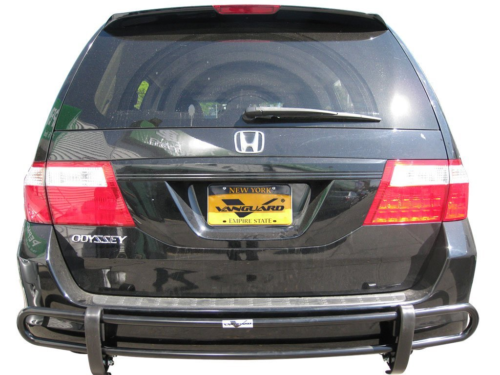 VGRBG-0598SS Stainless Steel Double Tube Style Rear Bumper Guard