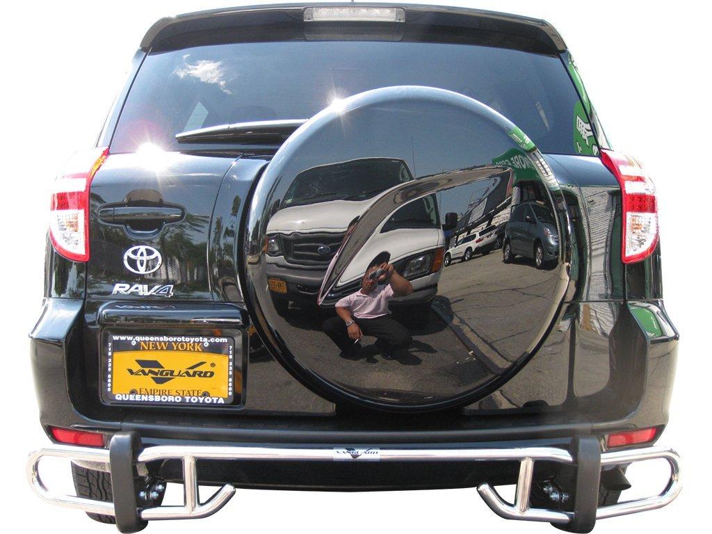 VGRBG-0663BK Black Double Tube Style Rear Bumper Guard