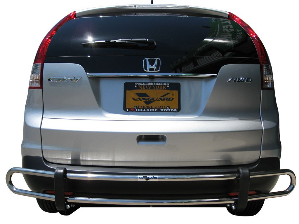 VGRBG-0712-0286SS Stainless Steel Double Tube Style Rear Bumper Guard