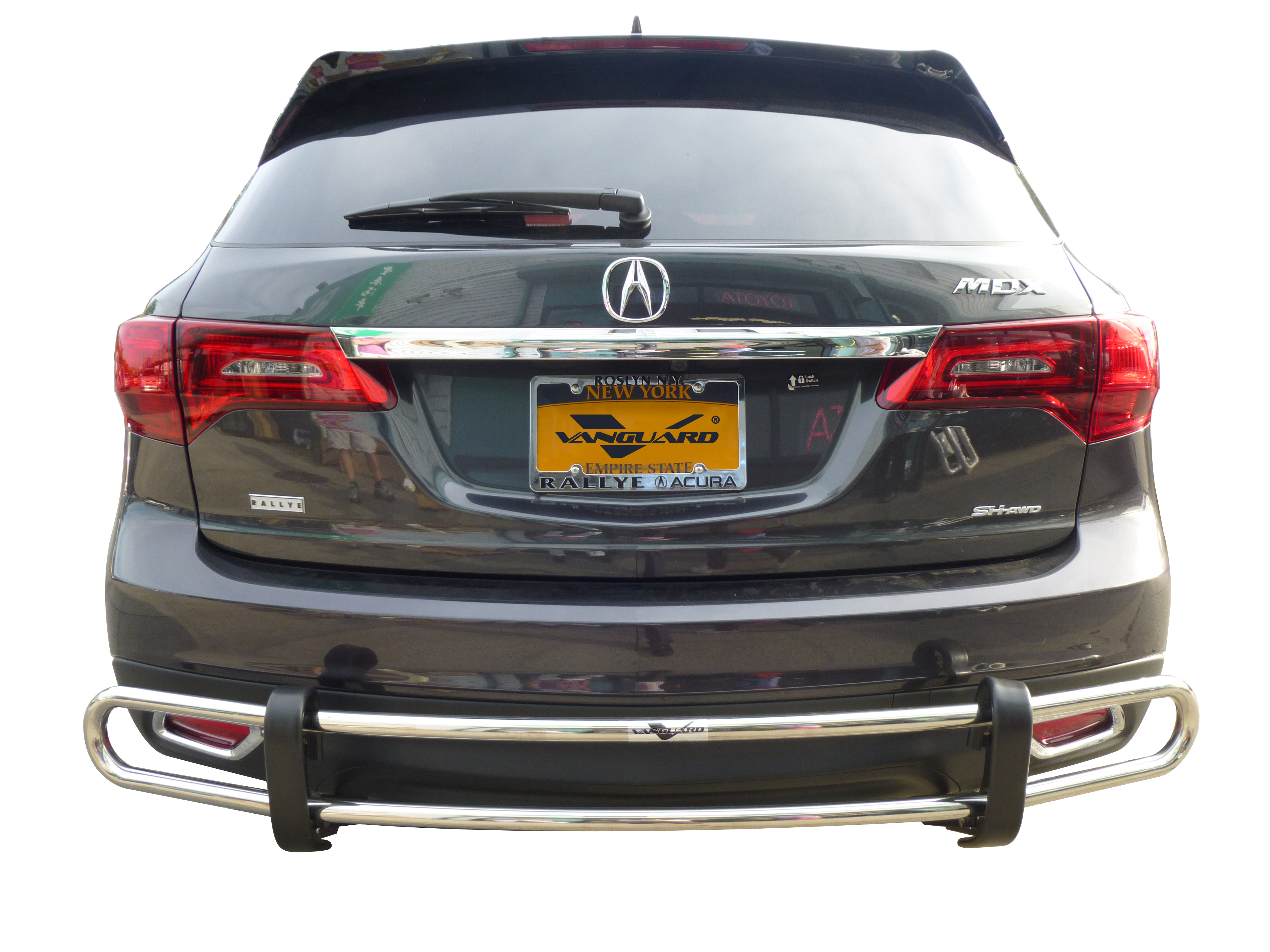 VGRBG-0712-0725SS Stainless Steel Double Tube Style Rear Bumper Guard