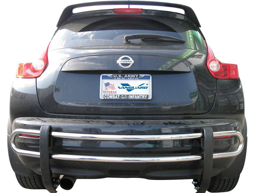 VGRBG-0712SS Stainless Steel Double Tube Style Rear Bumper Guard