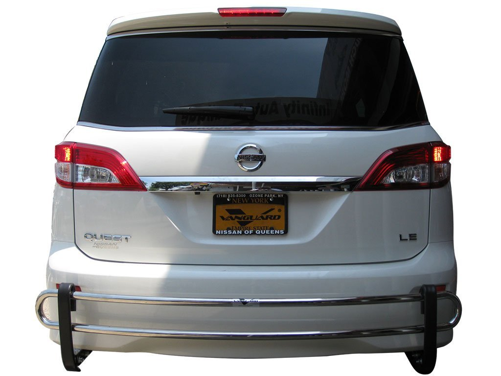 VGRBG-0745SS Stainless Steel Double Tube Style Rear Bumper Guard