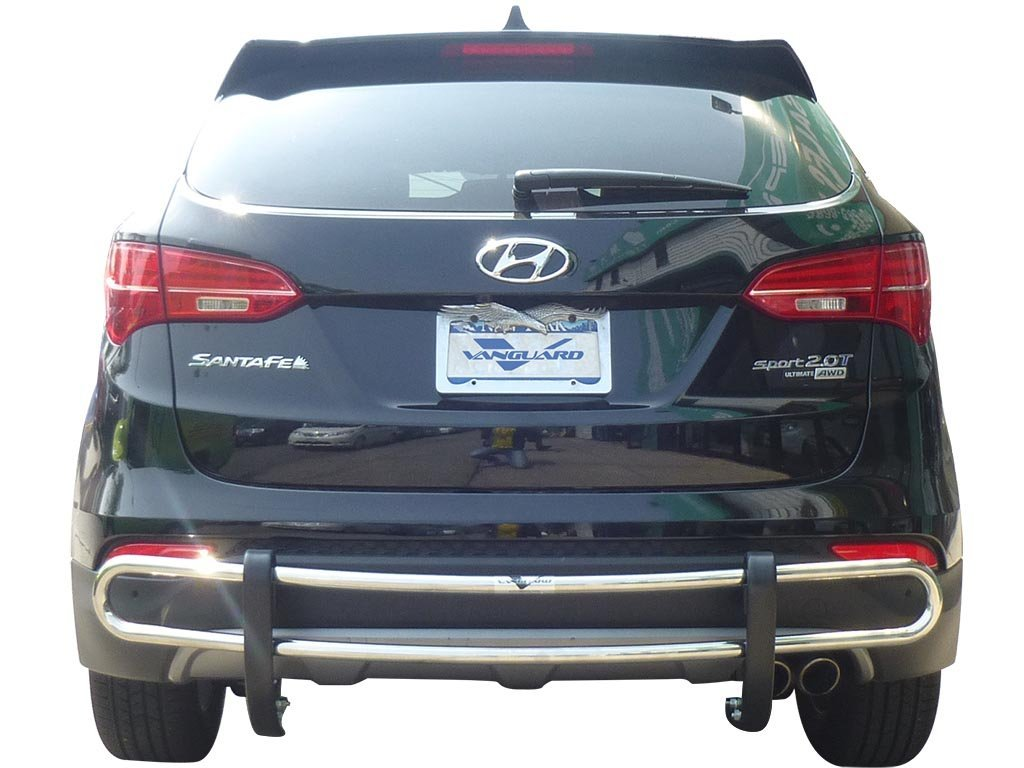 VGRBG-0751SS Stainless Steel Double Tube Style Rear Bumper Guard