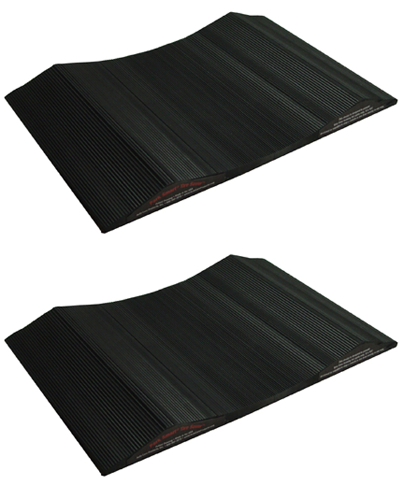 "10"" Park Smart Tire Saver Ramps, Set of 2"