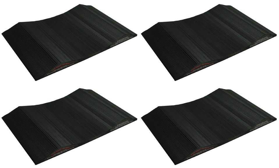 "10"" Park Smart Tire Saver Ramps, Set of 4"