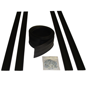 Garage Door Bottom Seal Kit - 8' U-Shape Door Seal Kit