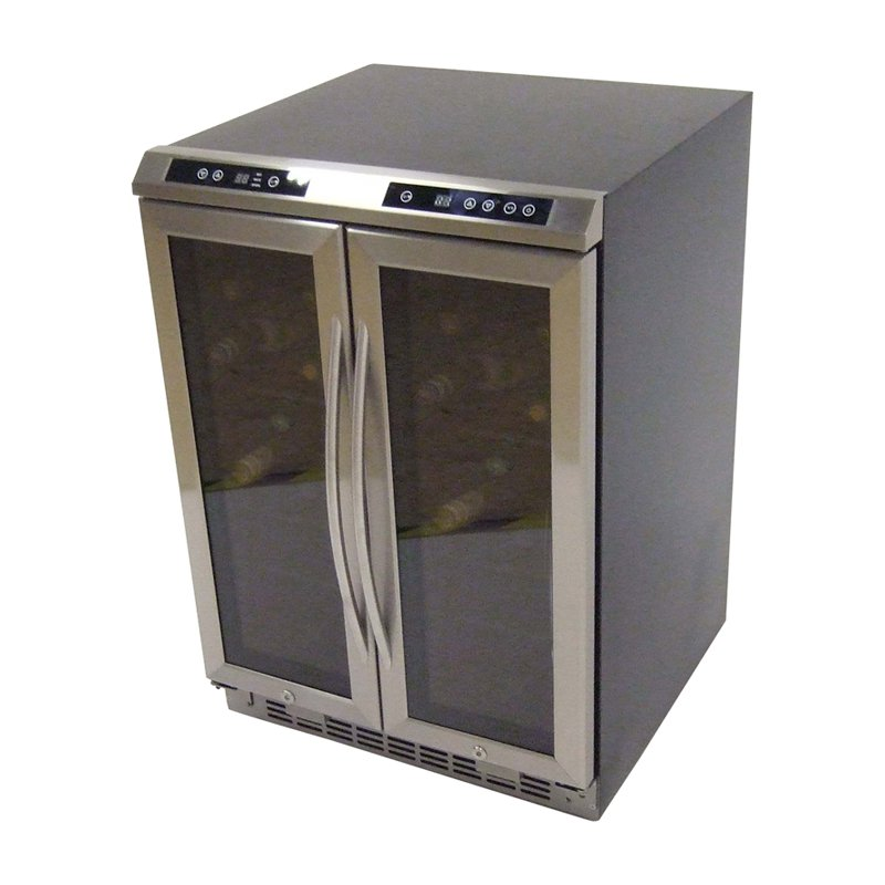 Avanti Dual Zone Side-By-Side Wine Chiller
